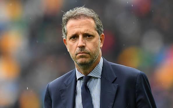 Fabio Paratici direttore sportivo della Juventus prima dell'ultima giornata di campionato