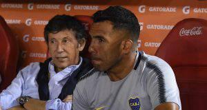 River Plate-Boca Juniors Carlos Tevez