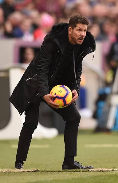 Diego Simeone -  Champions League