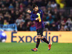 Leo Messi tripletta Barcellona