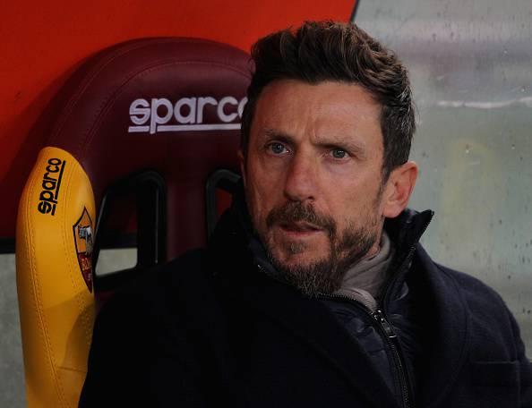 Roma-Genoa Eusebio Di Francesco
