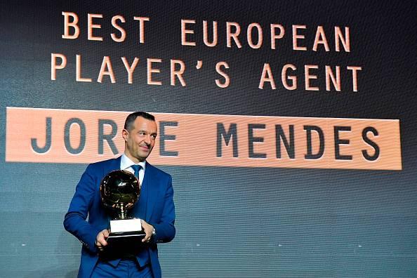 Jorge Mendes procuratore Ronaldo