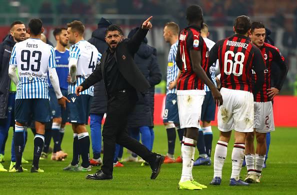Gattuso Milan-Spal