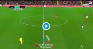 Liverpool-Everton Origi al 95'. Papera di Pickford