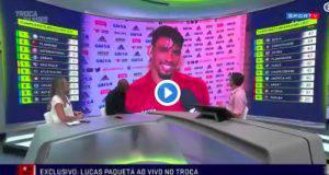 Lucas Paquetà parla italiano in tv