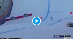 Marc Gisin caduta in Val Gardena