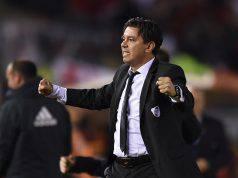 Marcelo Gallardo allenatore River Plate Campione del Sudamerica