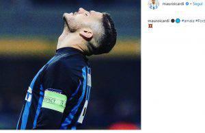 Mauro Icardi su Instagram il messaggio da Capitano