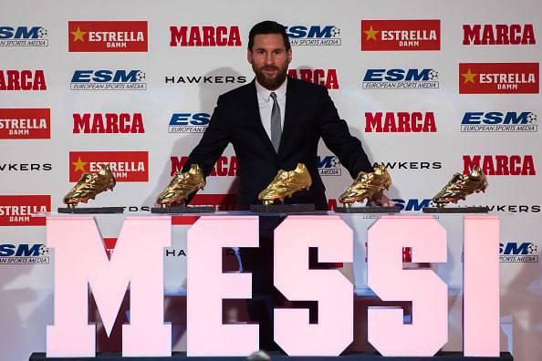 Lionel Messi scarpa d'oro
