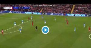 Momo Salah ecco l'azione del goal contro il Napoli