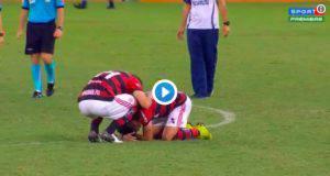 Paquetà saluta in lacrime i tifosi del Flamengo