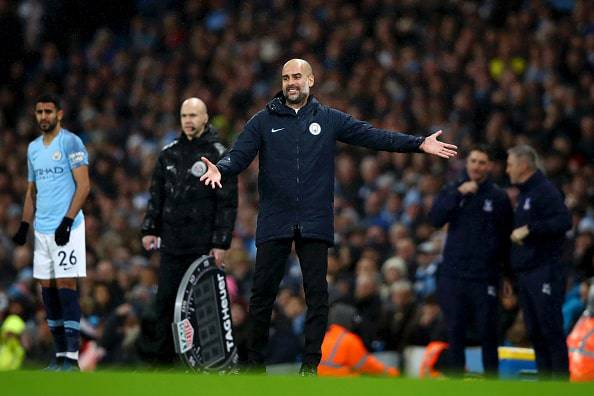 Manchester City Cristal Palace il commento di Pep Guardiola