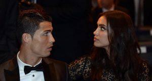 Cristiano Ronaldo Irina Shayk