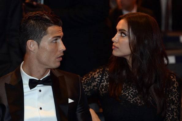 Irina Shayk Ronaldo ile ilgili görsel sonucu