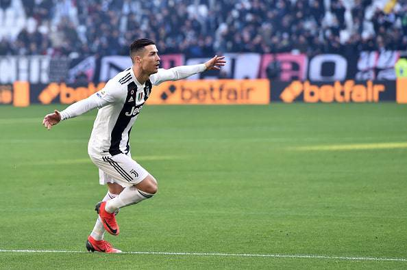 Doppietta di Ronaldo in Juventus-Sampdoria