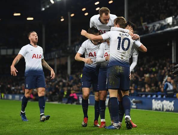 Il Tottenham batte l'Everton 6-2