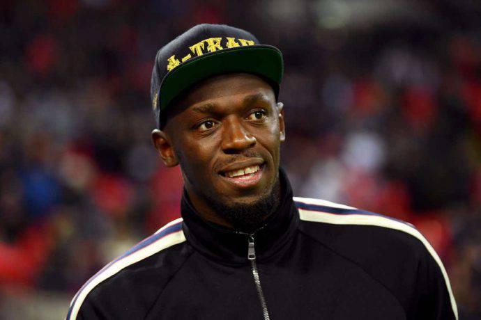 Bolt dà l'addio al calcio