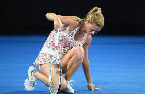 Camila Giorgi eliminata da Australian Open