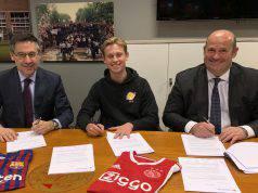 De Jong ufficiale al Barcellona