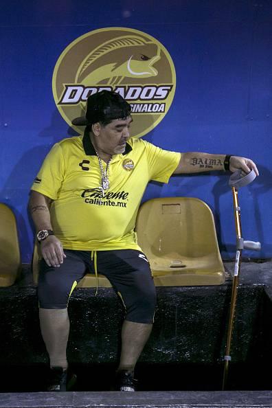 Maradona emorragia