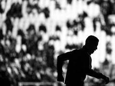 Cristiano Ronaldo corsa nel deserto