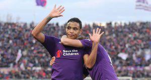 Muriel, attaccante della Fiorentina