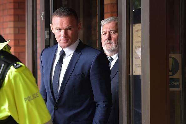 Wayne Rooney ubriaco