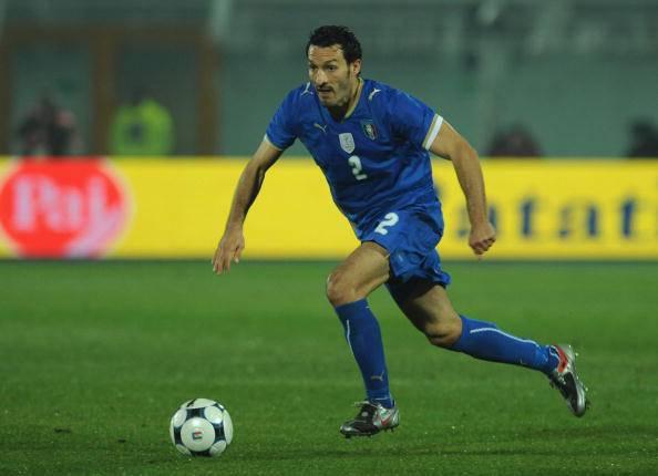 Gianluca Zambrotta Juventus-Milan