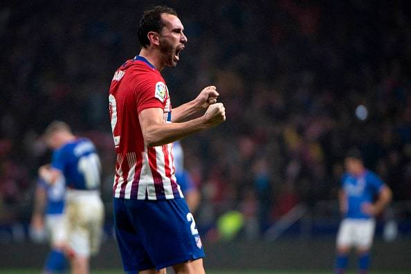 La partenza di Godin ha fatto arrabbiare i fans dell'Atletico Madrid