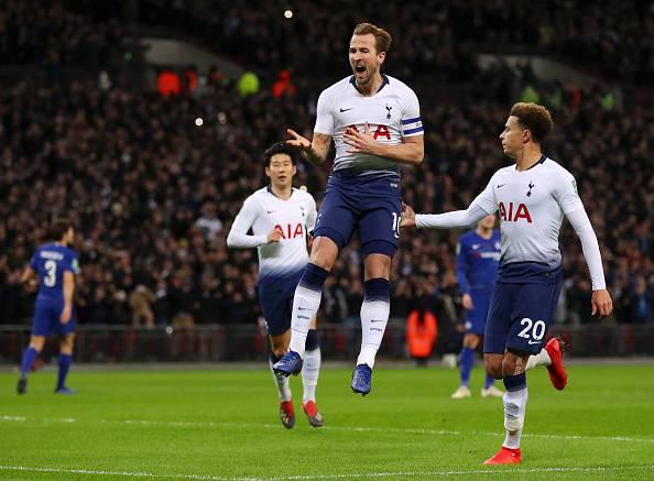 Harry Kane sblocca il derby londinese dal dischetto