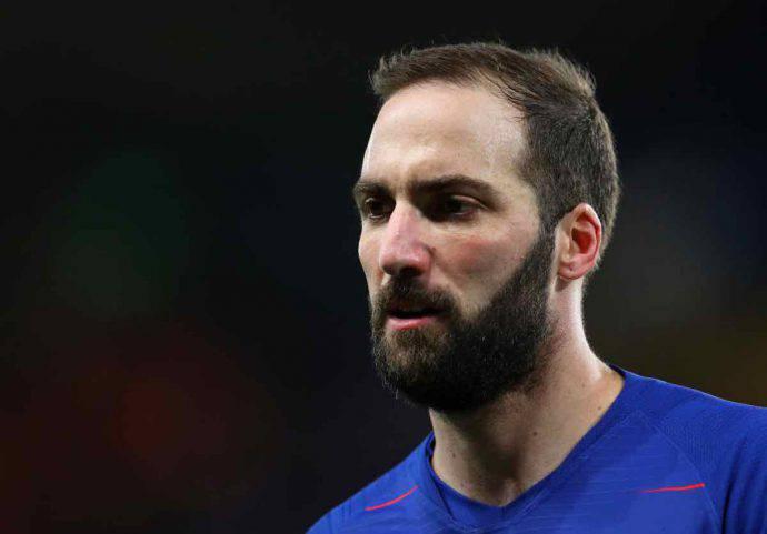 Higuain tifosi Chelsea