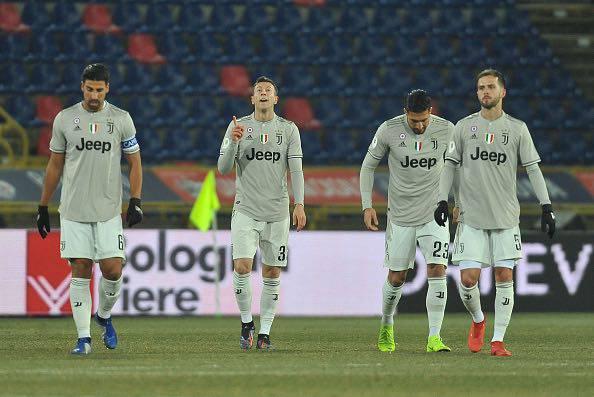 Mattinata di allenamenti per la Juventus. Perin infortunato salta l'Ajax
