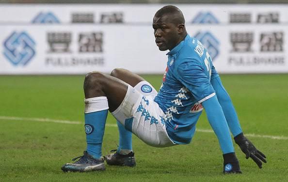 Il Manchester United prepara 108 milioni per Koulibaly