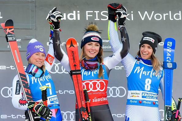 Mikaeal Shiffrin domina lo Slalom di San Vigilio. Terza Marta Bassino