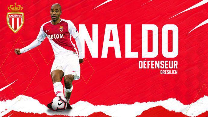 Naldo, ufficiale al Monaco