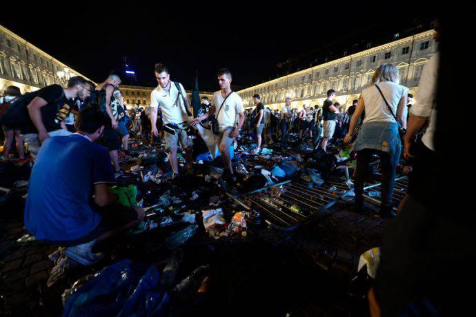 Piazza San Carlo tragedia
