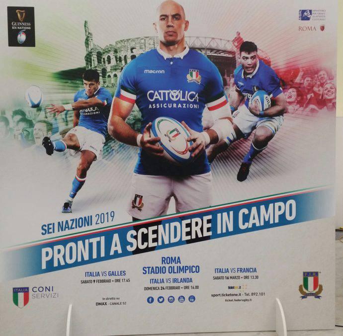 Italia presentazione Sei Nazioni