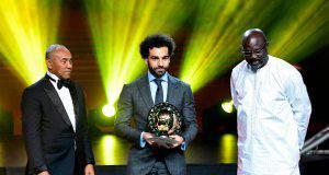 Salah si prende il pallone d'oro africano