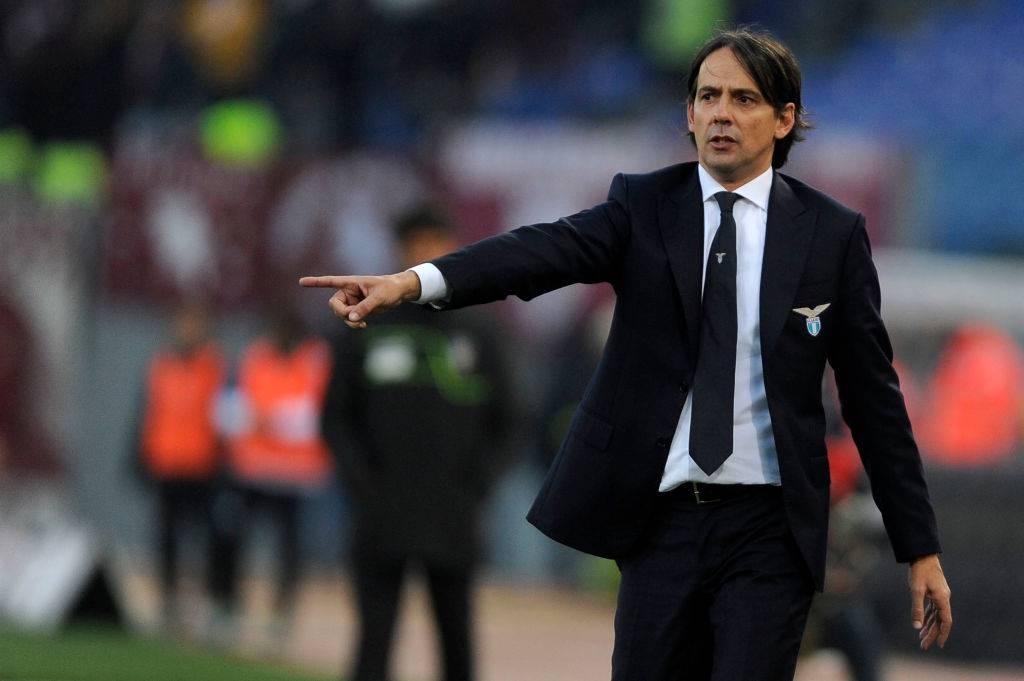 Simone Inzaghi Lazio domani attesa a Napoli