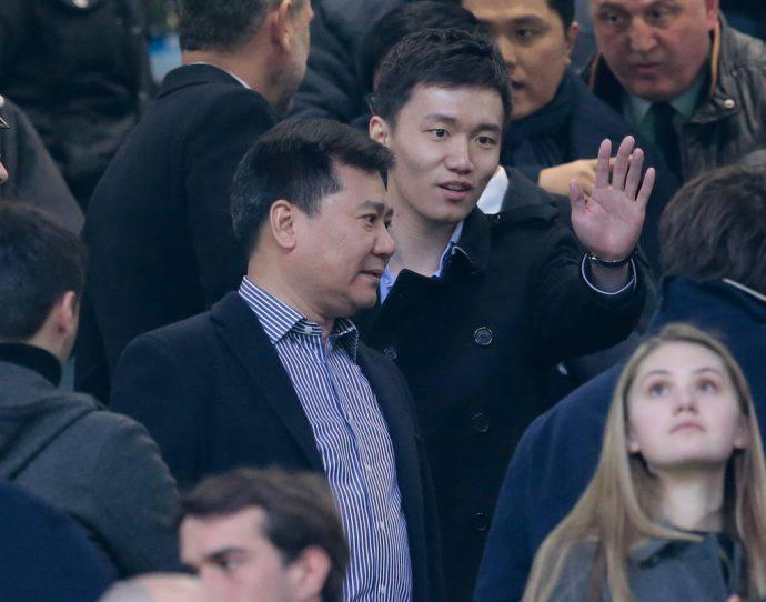 Jindong e Steven Zhang Inter