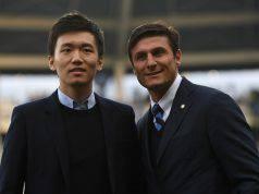 Steven Zhang e Xavier Zanetti Inter contro il razzismo