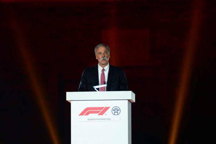 chase carey F1 Formula 1 Liberty Media