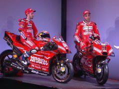 dovizioso petrucci ducati presentazione MotoGP 2019