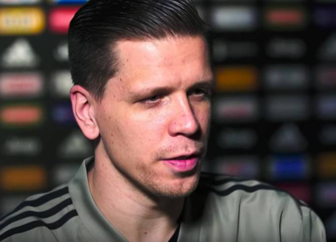 intervista di Wojciech Szczęsny al canale della Lega di Serie A