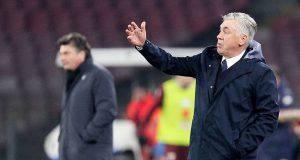 Ancelotti pareggia con Mazzarri