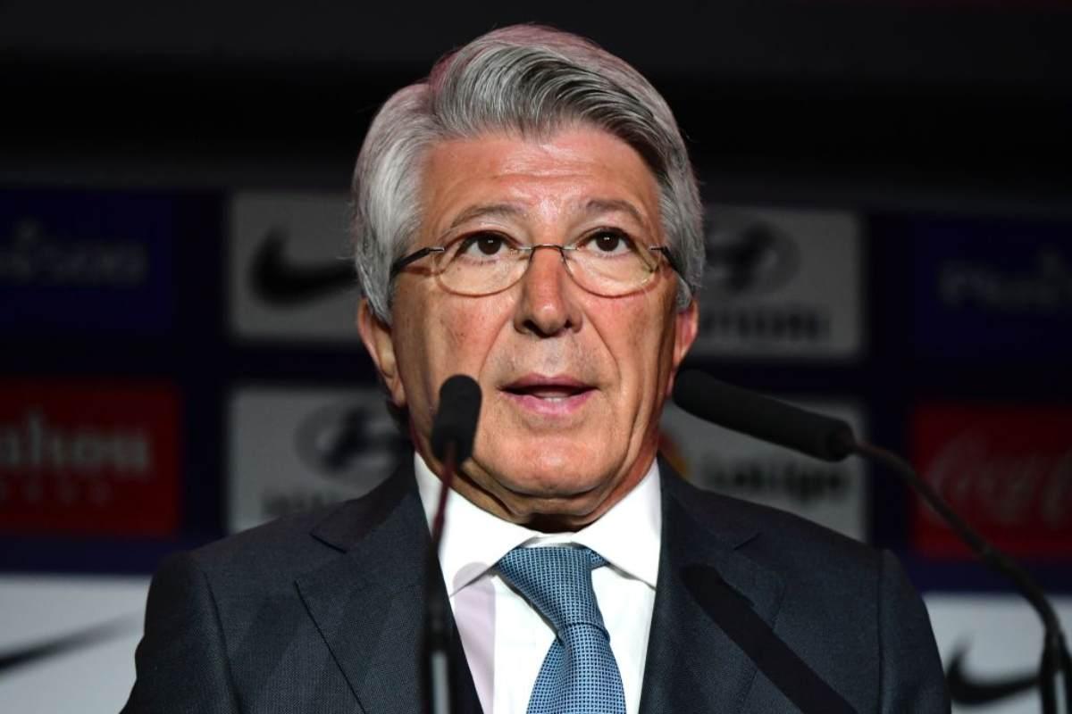 Cerezo Presidente dell'Atletico Madrid