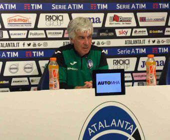 Gian Piero Gasperini in conferenza stampa prima del match contro il Torino.