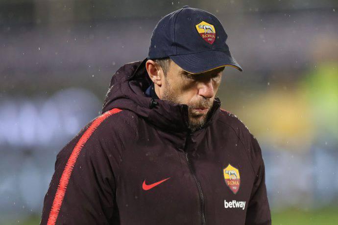 Di Francesco Roma vigilia sfida contro il Milan
