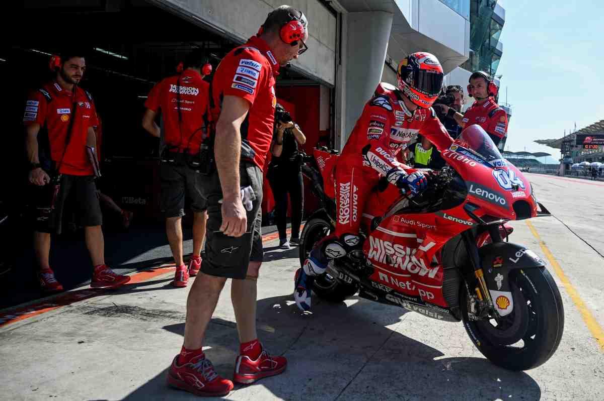 Dovizioso MotoGP Test 2019 Sepang Ducati