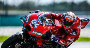 Dovizioso test MotoGP Sepang 2019 Ducati